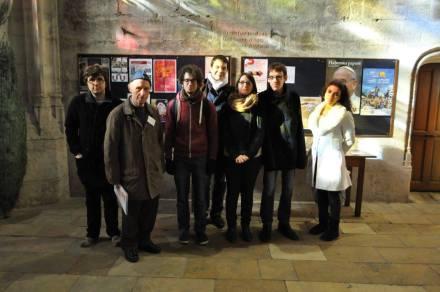 Merci à l'association Recherches archéologiques gérondines pour la visite de la basilique Saint-Michel