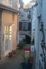L'arceau, un vestige du Moyen-Age dans le village d'Angles