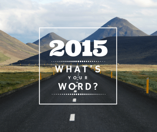 2015-1-6 Whats Your Word