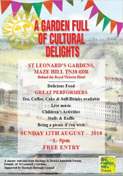Garden Full of Cultural Delights Flyer