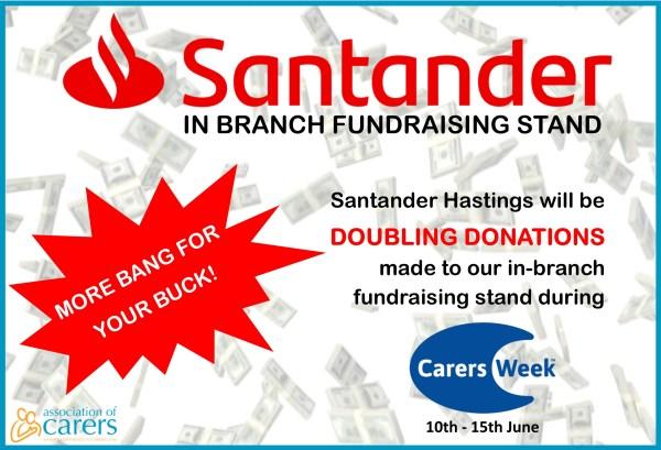 Santander Fundraiser for Association of Carers