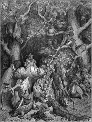 Gustave Dorè - Orlando furioso