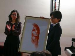 Samuele Valenzano ritira anche il disegno del pittore Gerardo Iovino