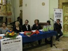 Da sx: Lorenzo Spurio, Gioia Casale, Alessandra Montali, Marco Squarcia, Marinella Cimarelli, Stefano Vignaroli, Oscar Sartarelli