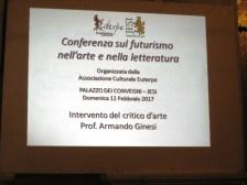 Fermo immagine della presentazione del prof. Ginesi