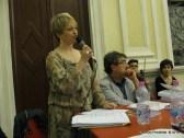 Jesi, Palazzo dei Convegni, sabato 4 giugno 2016 - Presentazione della Ass. Culturale Euterpe - Da sx: Alessandra Montali ed Oscar Sartarelli