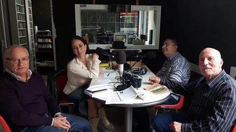 Da sx: Elvio Angeletti, Morena Oro, Nazzareno Tiberi, Salvatore Greco