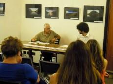 Sergio Vaccaro pone le sue domande a Omar Colombo