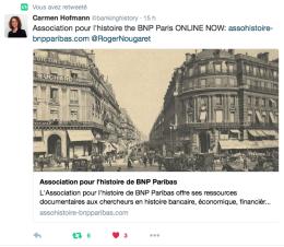 Tweet de Carmen Hoffmann