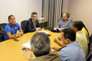 Belivaldo Chagas, recebe presidente da Assomise - Foto Diego Barboza