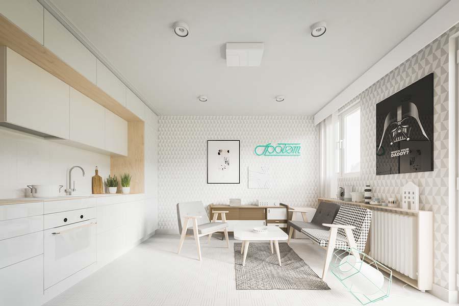 cucina e soggiorno unico ambiente in 15 mq. Come Arredare Cucina E Soggiorno In Un Ambiente Unico