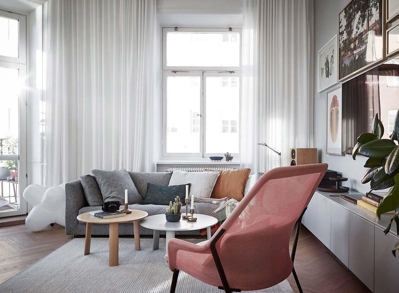 Arredamenti milani arredamento soggiorno moderno design. Tende Moderne Per Interni Tutto Cio Che Devi Sapere