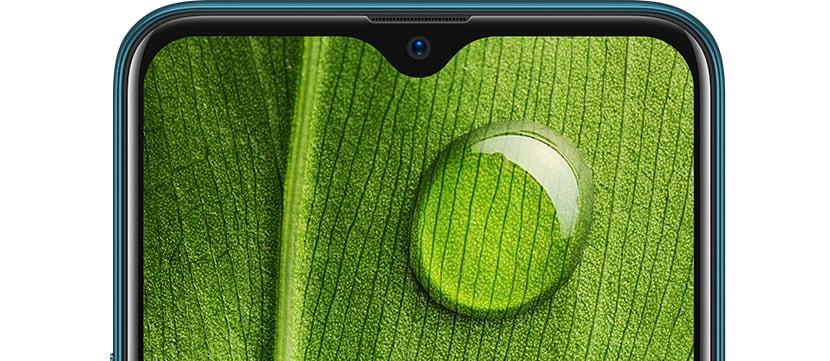 A7 Waterdrop Screen
