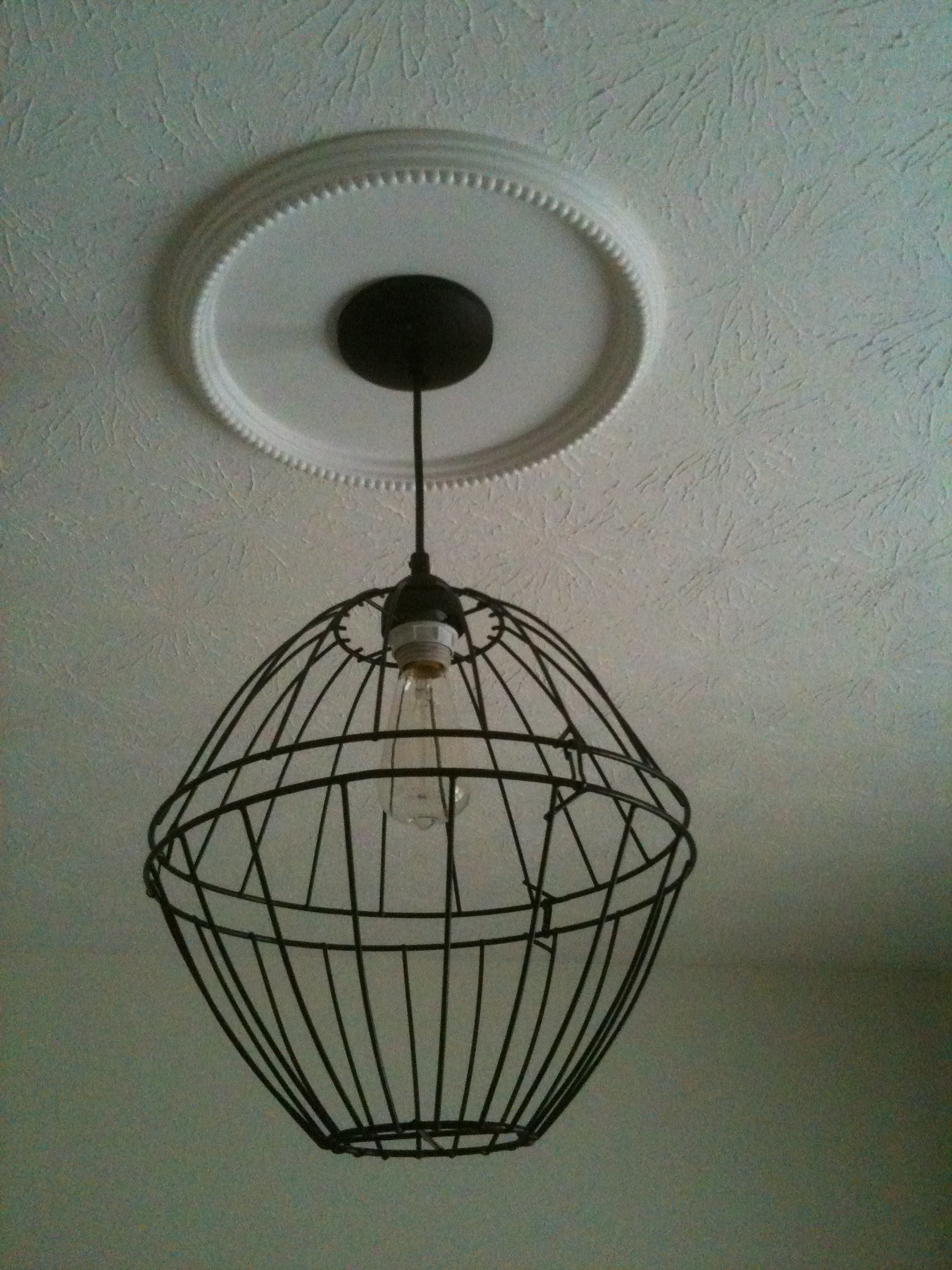 DIY Farmhouse Light Fixture Assorted Annie