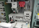 One of two launch desks inside the Delta-01 capsule. (c) J.S. Reinitz 2013