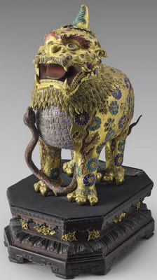 Chimera statue taken during a burglary at Chateau de Fontainbleau in March 2015. Photo courtesy of Interpol.