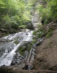 The falls at Dunning's Spring. (c) 2015 J.S.Reinitz