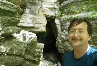 Dunning's Spring cave entrance. (c) 2015 J.S.Reinitz