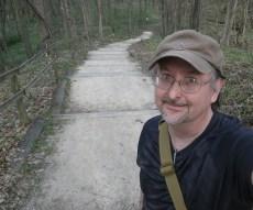 On the trail. (c) 2016 J.S.Reinitz