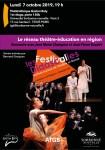 Le réseau théâtre-éducation en région : le Festival Didascalies