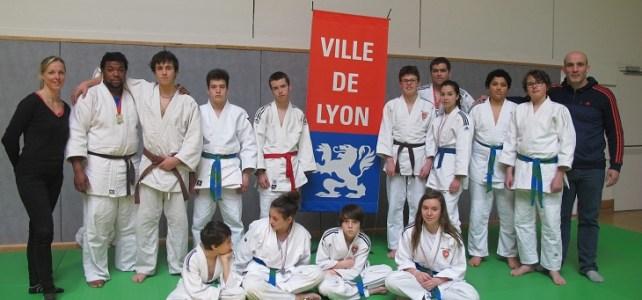 Championnat de FRANCE  UGSEL de JUDO à LYON 22/23 MARS 2015