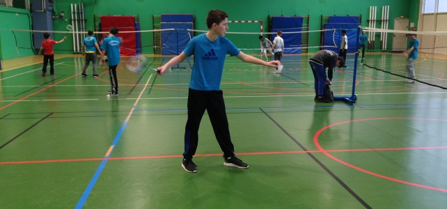 Badminton Individuel Benjamin District
