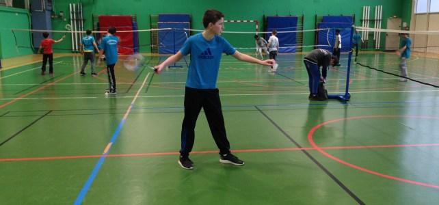 Badminton Individuel Benjamin District