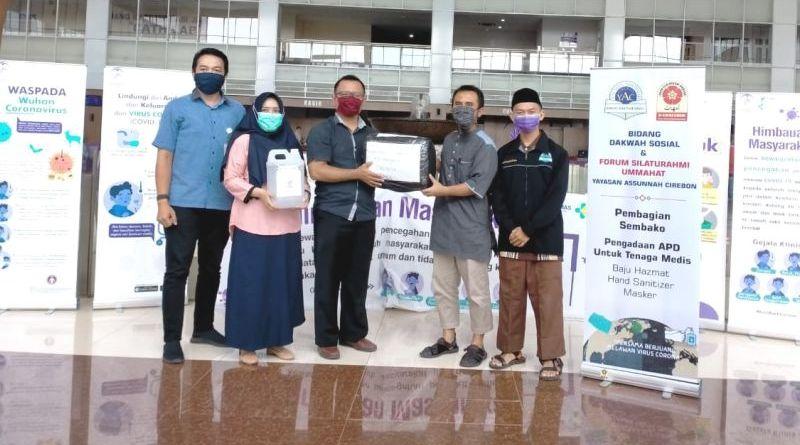 Peduli Covid-19 Bersama Forum Silaturahmi Ummahat Yayasan Assunnah Cirebon