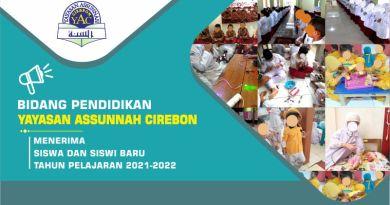 Penerimaan Siswa Siswi Baru Tahun ajaran 2021 – 2022