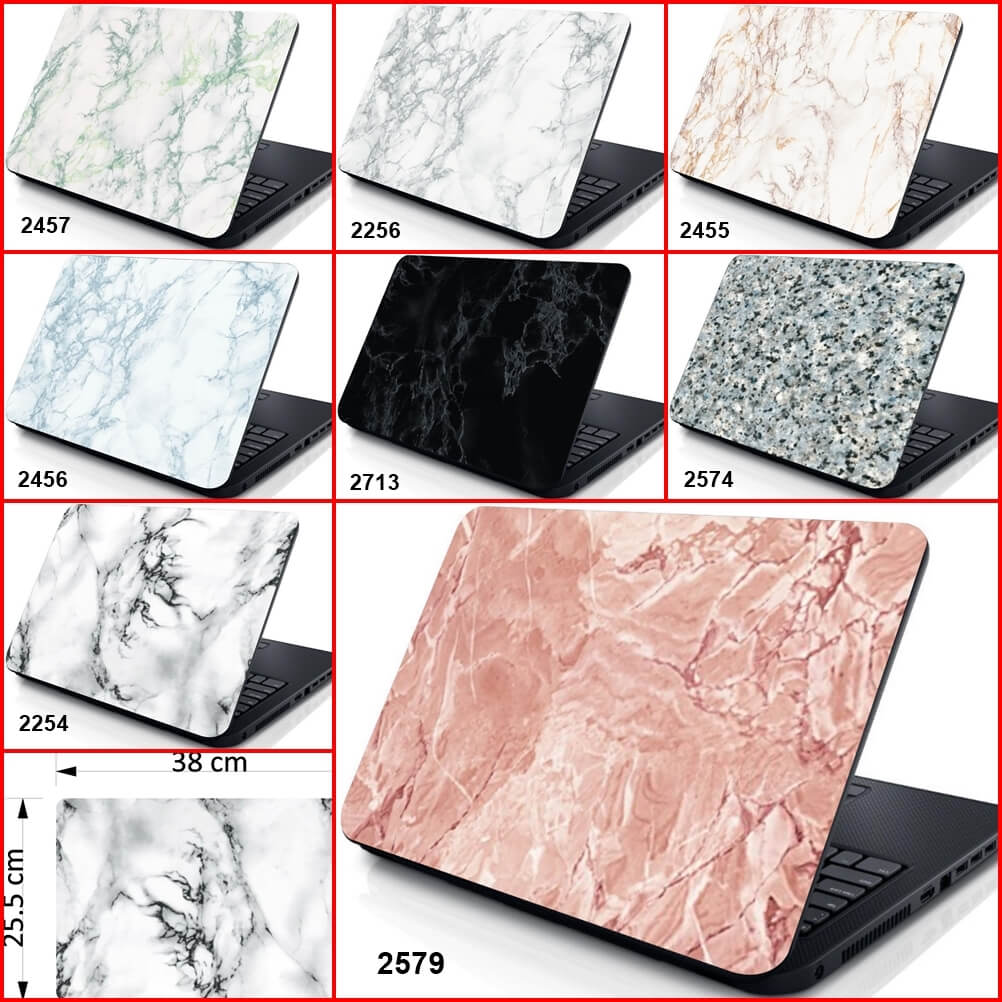 Marble Laptop Skin Cover