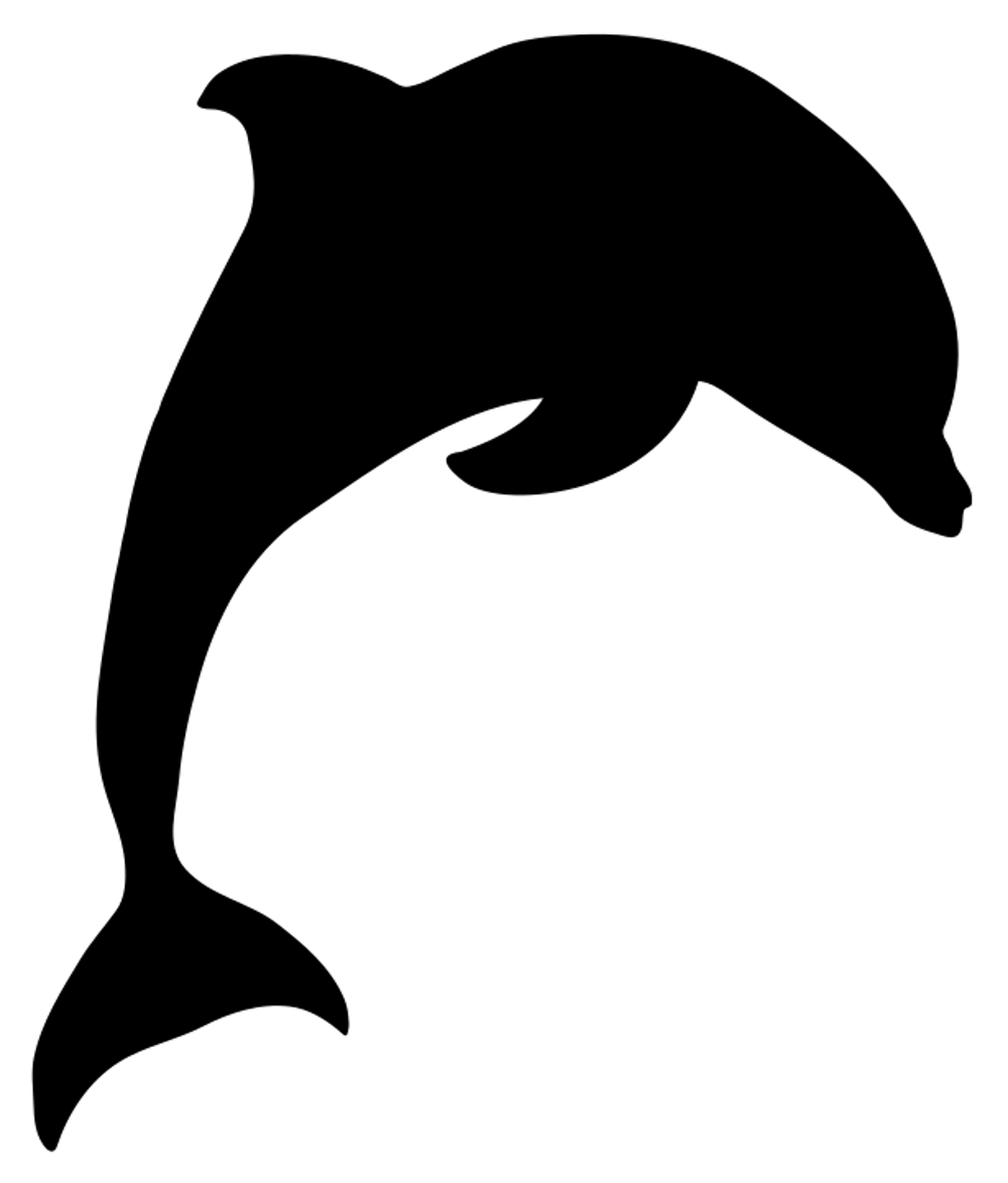 1 Pieces Dolphin Stickers Decal As Supplies