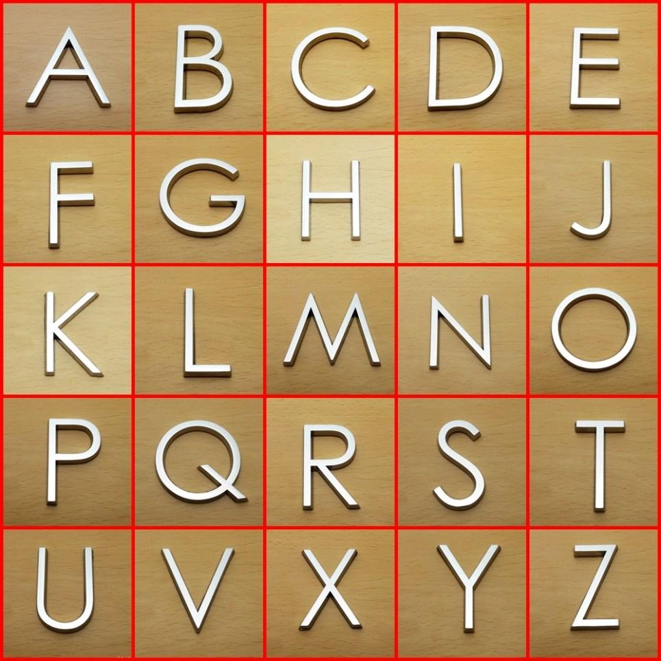 Letters 3D HAG 5cm