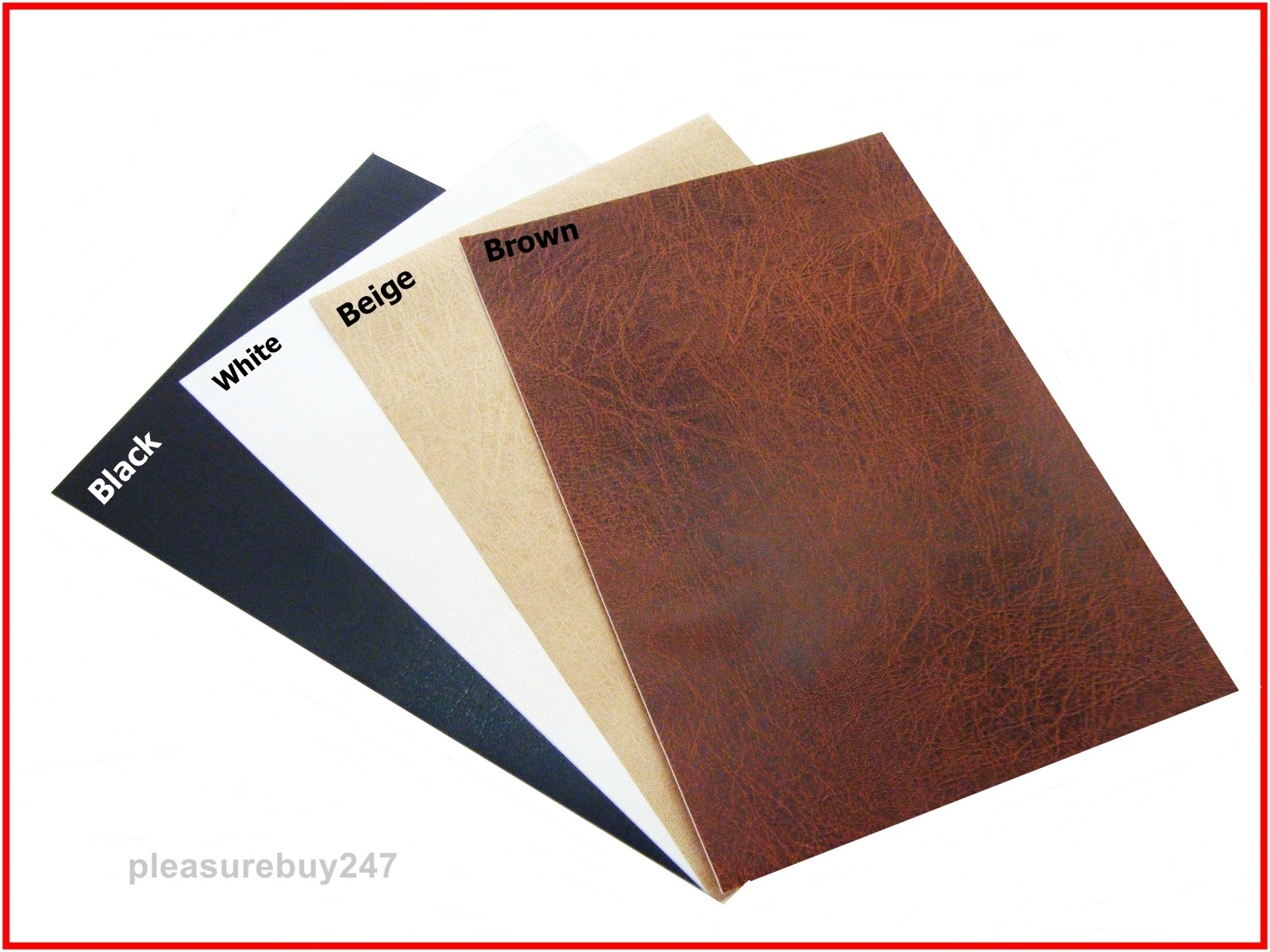 Self Adhesive Leather Design