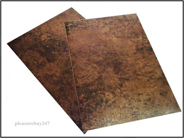 Self Adhesive A2 Vintage Copper Vinyl