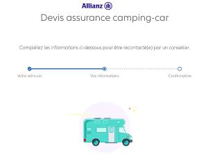 devis assurance camping car allianz