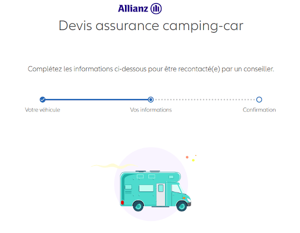 devis assurance camping car allianz