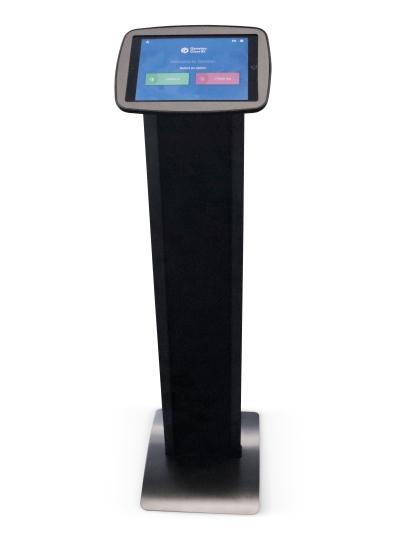 Badge Printing Kiosk Stand