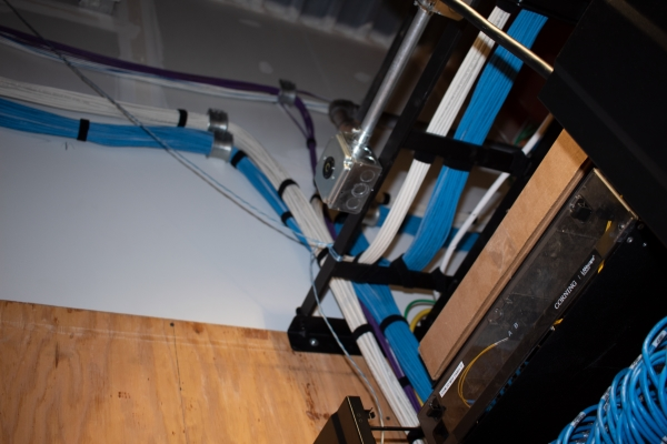 Ladder Tray and Cabling