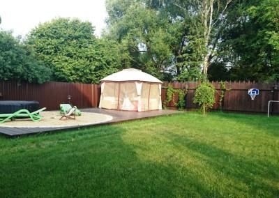 Реконструкция небольшого сада. Мкрн. Белые столбы