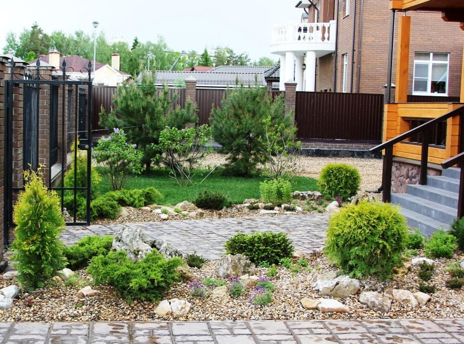 Комплексное озеленение участка к/п «Аксаково»