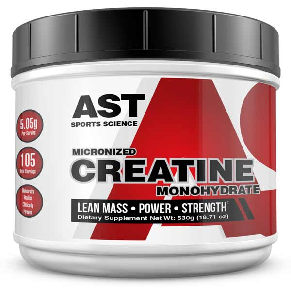 Immediate 20% Performance Boost From Creatine Monohydrate