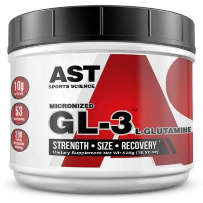 Best Glutamine Supplement - GL3 L-Glutamine 525 Grams