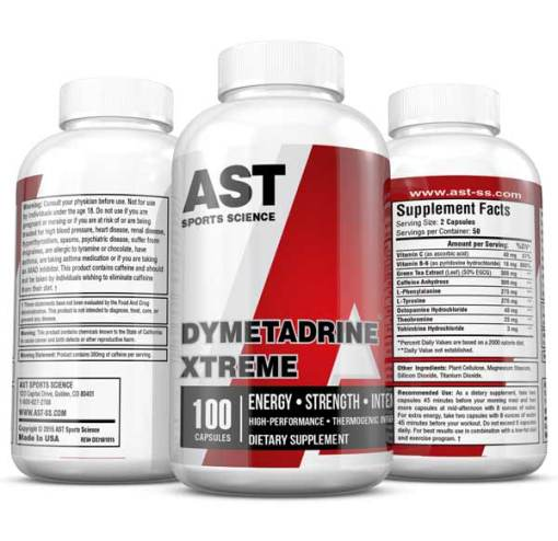 Dymetadrine Xtreme - Ultimate Pre-Workout Supplement