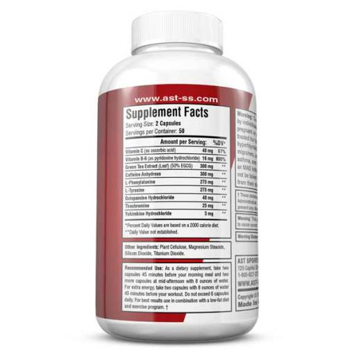 Dymetadrine Xtreme Supplement Facts