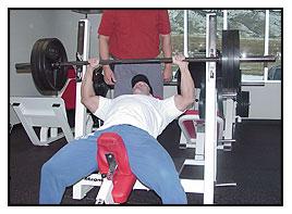 Jeff Willet Max-OT incline bench press