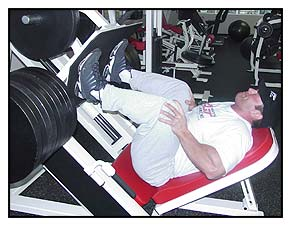 Jeff Willet Max-OT leg press