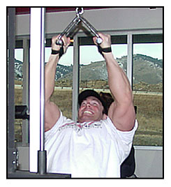 Jeff Willet Max-OT V-bar pull downs