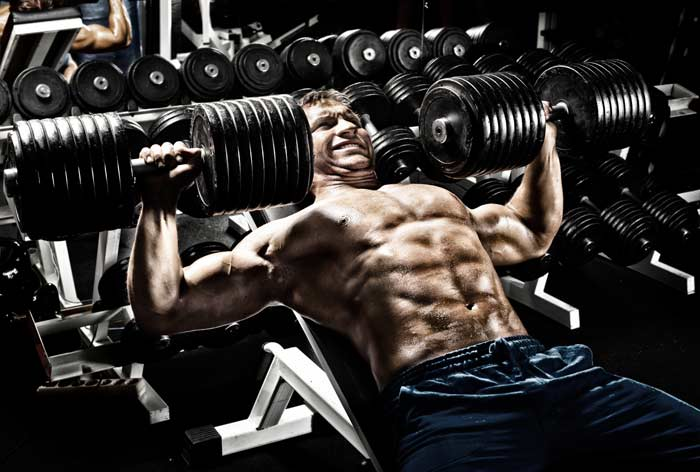 Heavy Dumbbell Bench Press - AST Sports Science
