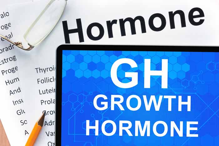 Why does growth hormone release peak after exercise?