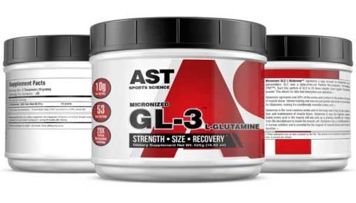 Best Glutamine Supplement - GL3 L-Glutamine 525 Grams
